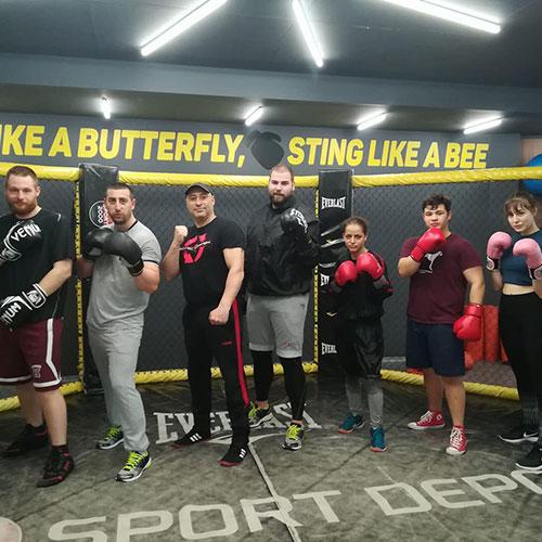 Бокс във фитнес Флайс Княжево