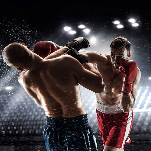 Бокс във фитнес Флайс Стрелбище