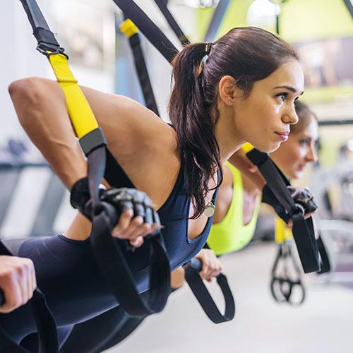 TRX във фитнес Флайс Младост