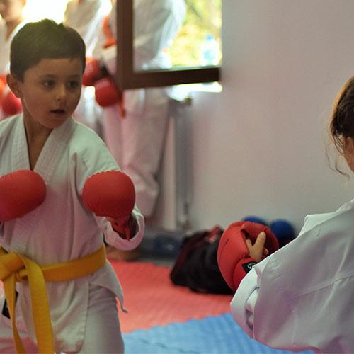 Олимпийско карате за деца и възрастни във фитнес Флайс Младост